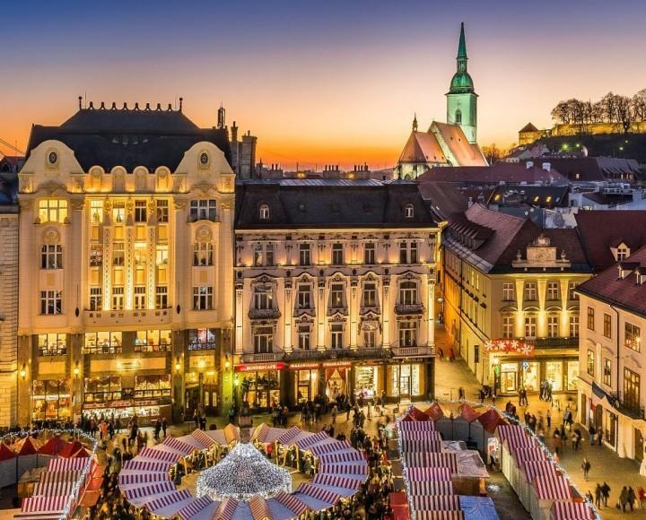 Bratislava During Christmas Time